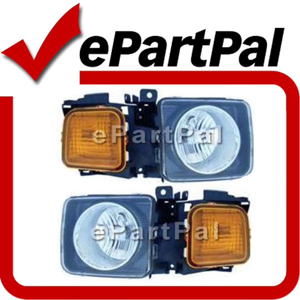 06-07 Hummer H3 Headlights