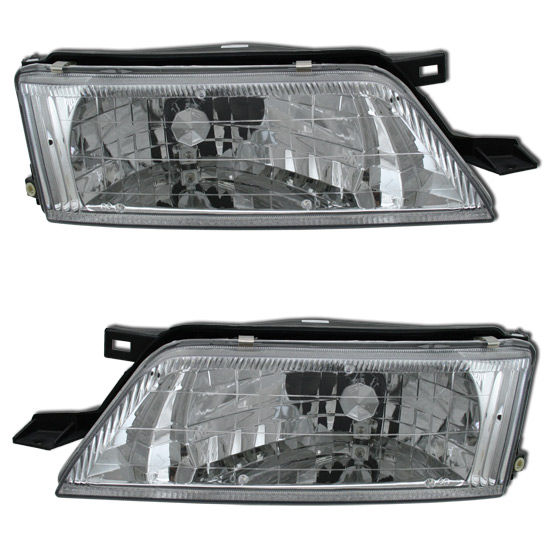 95-99 Nissan Maxima Euro Clear Headlights