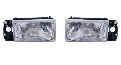 90-92 Volvo 740 Headlights